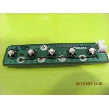 TOSHIBA: 32LV670 P/N: V28A000310A5 Key Control Board