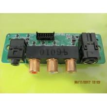 SAMSUNG: LN-S4041D P/N: BN41-000625A AV SIDE JACK BOARD