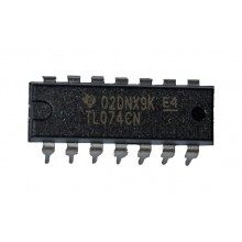 TL074CN IC LOW NOISE, JFET INPUT OPERATIONAL AMPLIFIERS