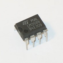 LM358N IC DUAL DIFFERENTIAL INPUT OPERATIONAL AMPLIFIERS