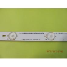 TOSHIBA 39L4300UC P/N: C390LD-DF61_5LED_TYPE2 REV. 02 LEDS STRIP