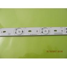 TOSHIBA 40L2200U P/N: C202615WCA000451AB2A LEDS STRIP