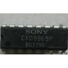 CXD9969P IC Manu:SONY Encapsulation:DIP-16,Single-Chip FaxEngine