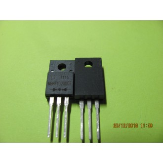 MBRF10200CT: DIODE 10A SCHOTTKY BARRIER DIODE Full Pack High Voltage Schottky Rectifier